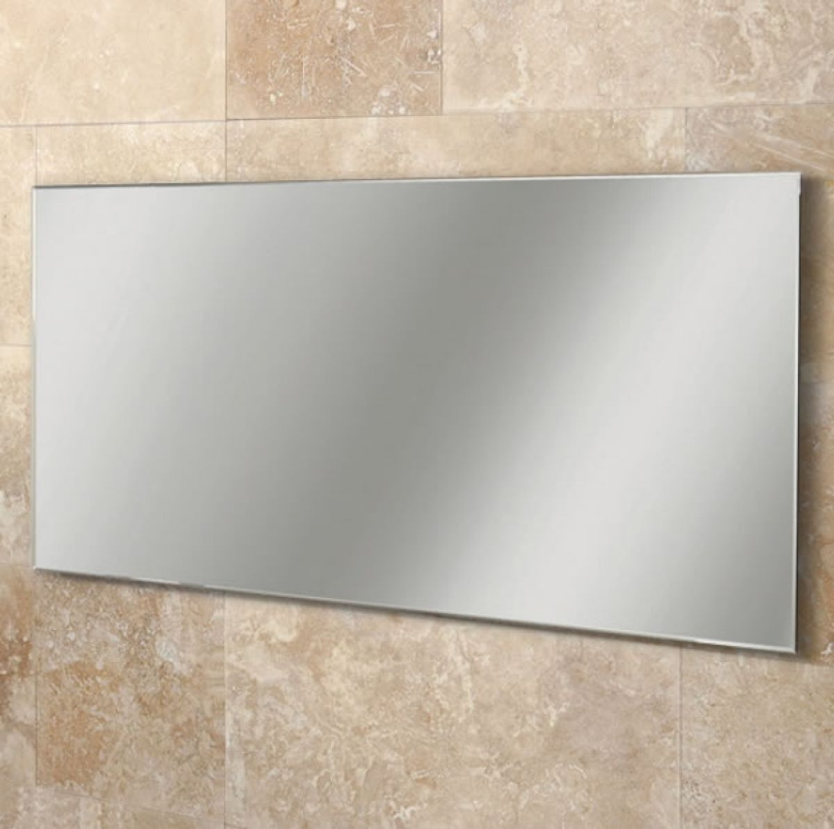Wall Collection Including Large Frameless Bathroom Mirror Pictures With Large Frameless Bathroom Mirror (View 14 of 15)