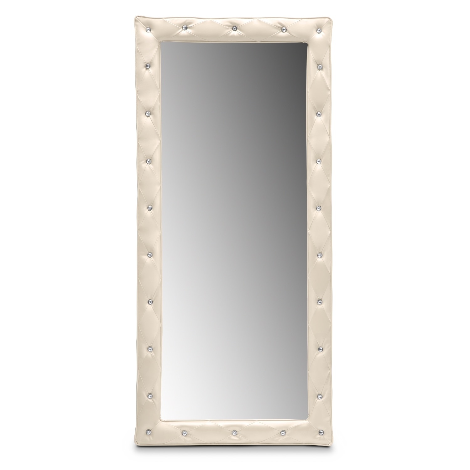 Wall Floor Mirrors Bedroom Accents Value City Furniture Regarding Bling Floor Mirror (Image 14 of 15)