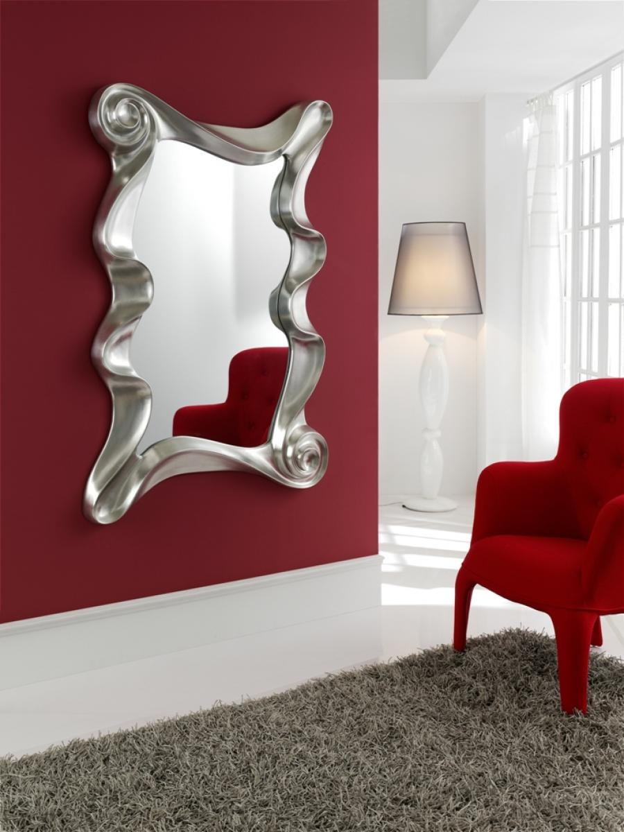 Wall Mirrors Large Decorative Makipera Modern Large Designer Wall With Designer Mirrors For Sale (Image 15 of 15)