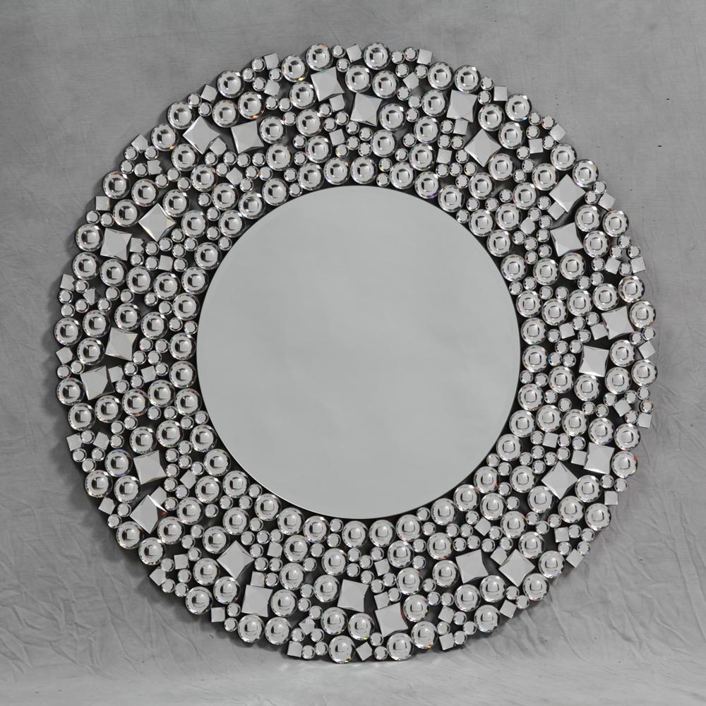 Wall Mirrors Nicholas John Interiors Regarding Glitzy Mirrors (View 5 of 15)