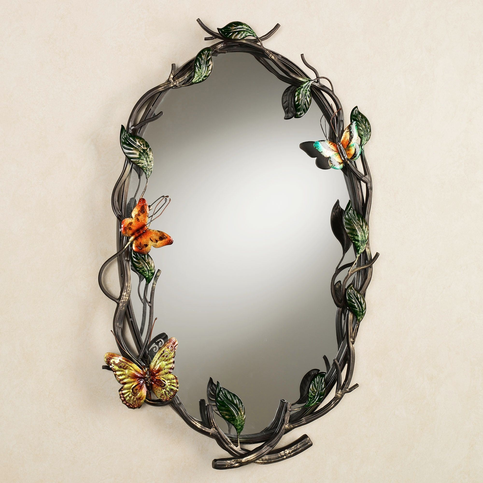 15 Best Ideas Butterfly Wall Mirror Mirror Ideas