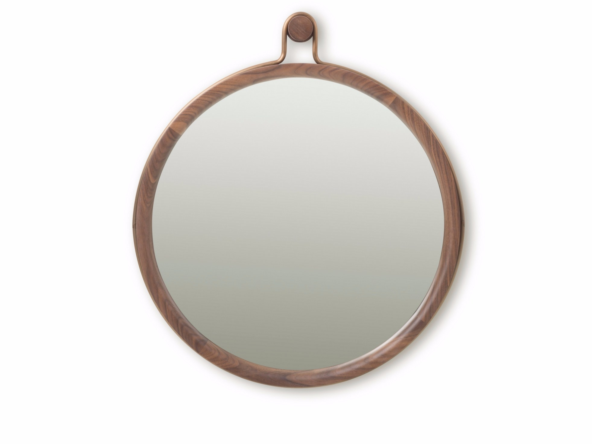 Wall Mounted Framed Round Mirror Utility Round Mirror Large Inside Round Mirror Large (Image 14 of 15)