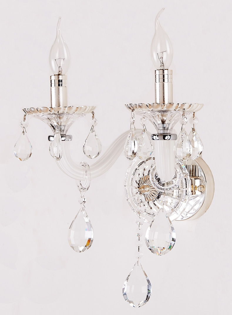 Wall Sconce Lamp Swing Lamps Arm Wall Llight Chandelier Wall Regarding Chandelier Wall Lights (Image 13 of 15)