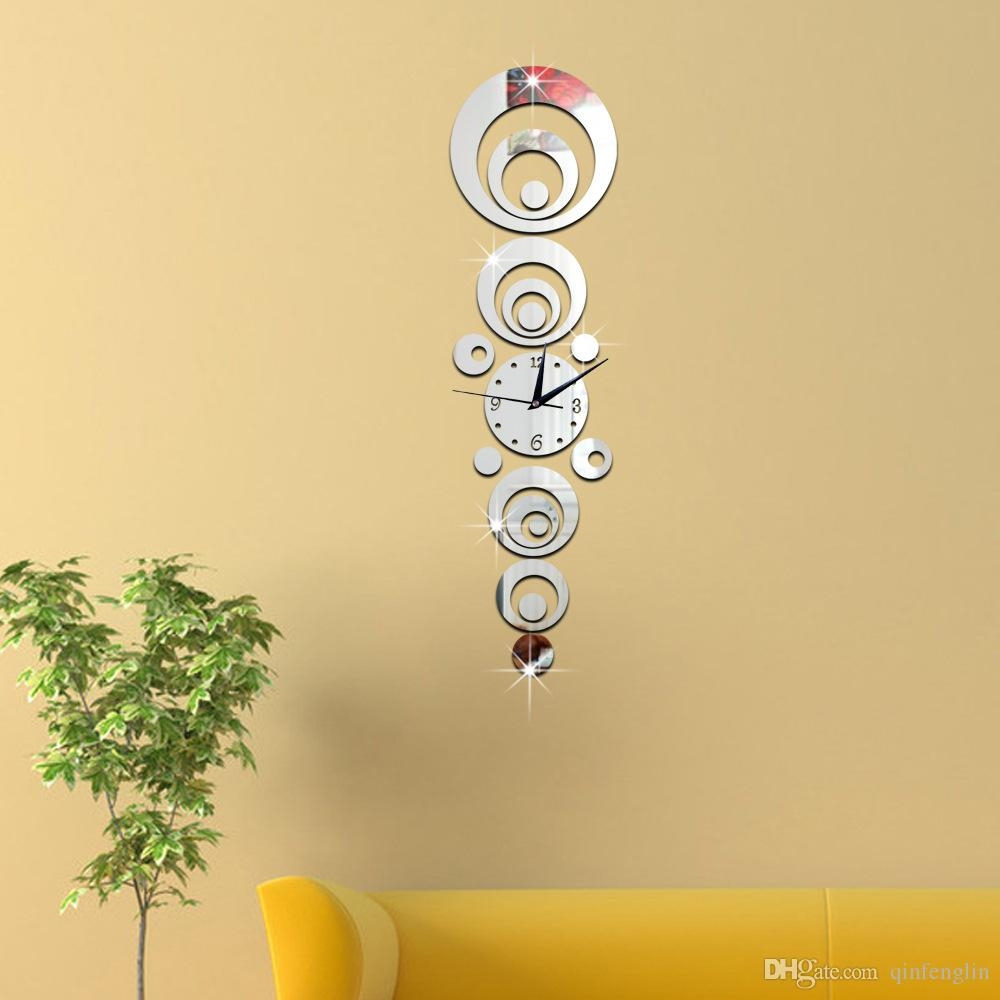 Wallpaper Sticker Clock Online Wallpaper Sticker Clock For Sale Within Online Mirror Shopping (Image 14 of 15)