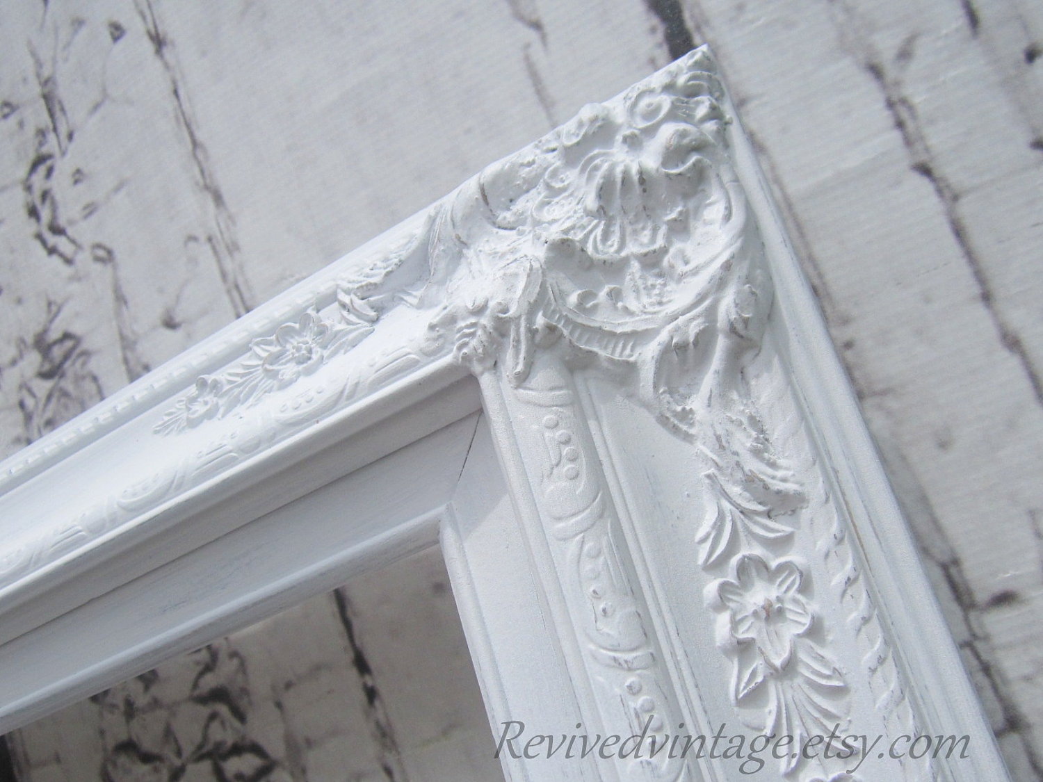 Wedding Portrait Frame For Sale White Shab Chic Picture Frames With Shabby Chic Mirrors For Sale (Image 15 of 15)