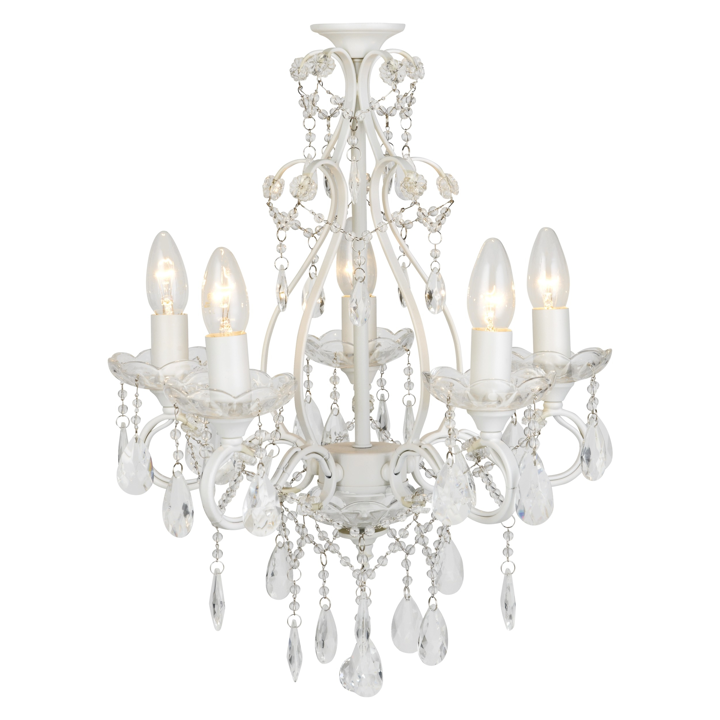 White Chandelier Home Design Ideas Within White Chandelier (Image 14 of 15)