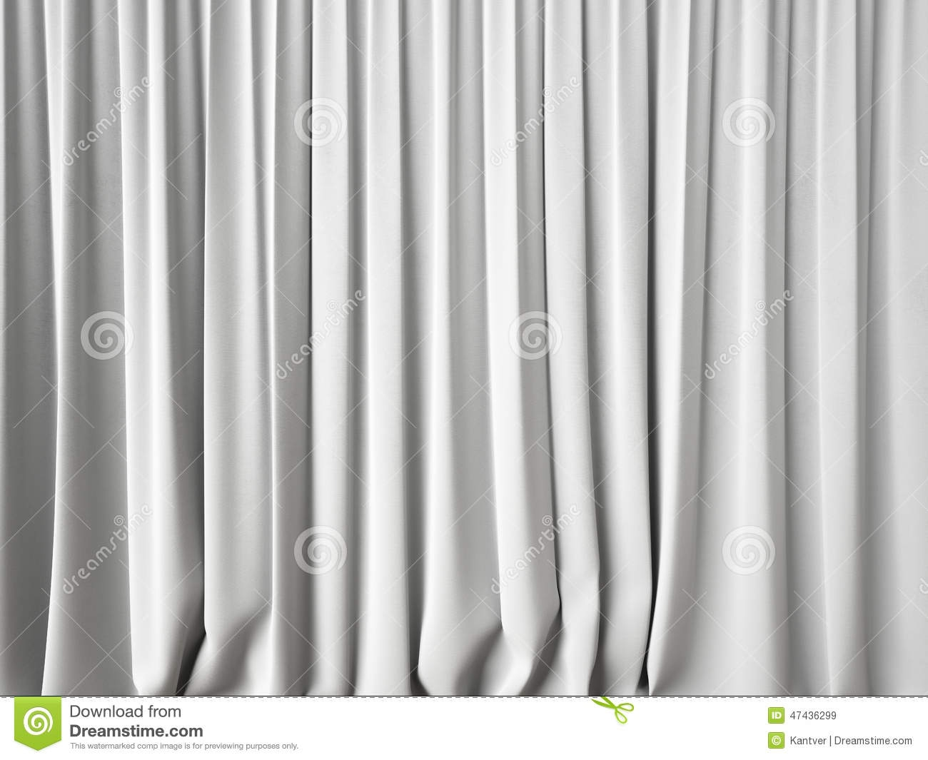 White Curtains Background Stock Photo Image 47436299 With Velvet 15 Of