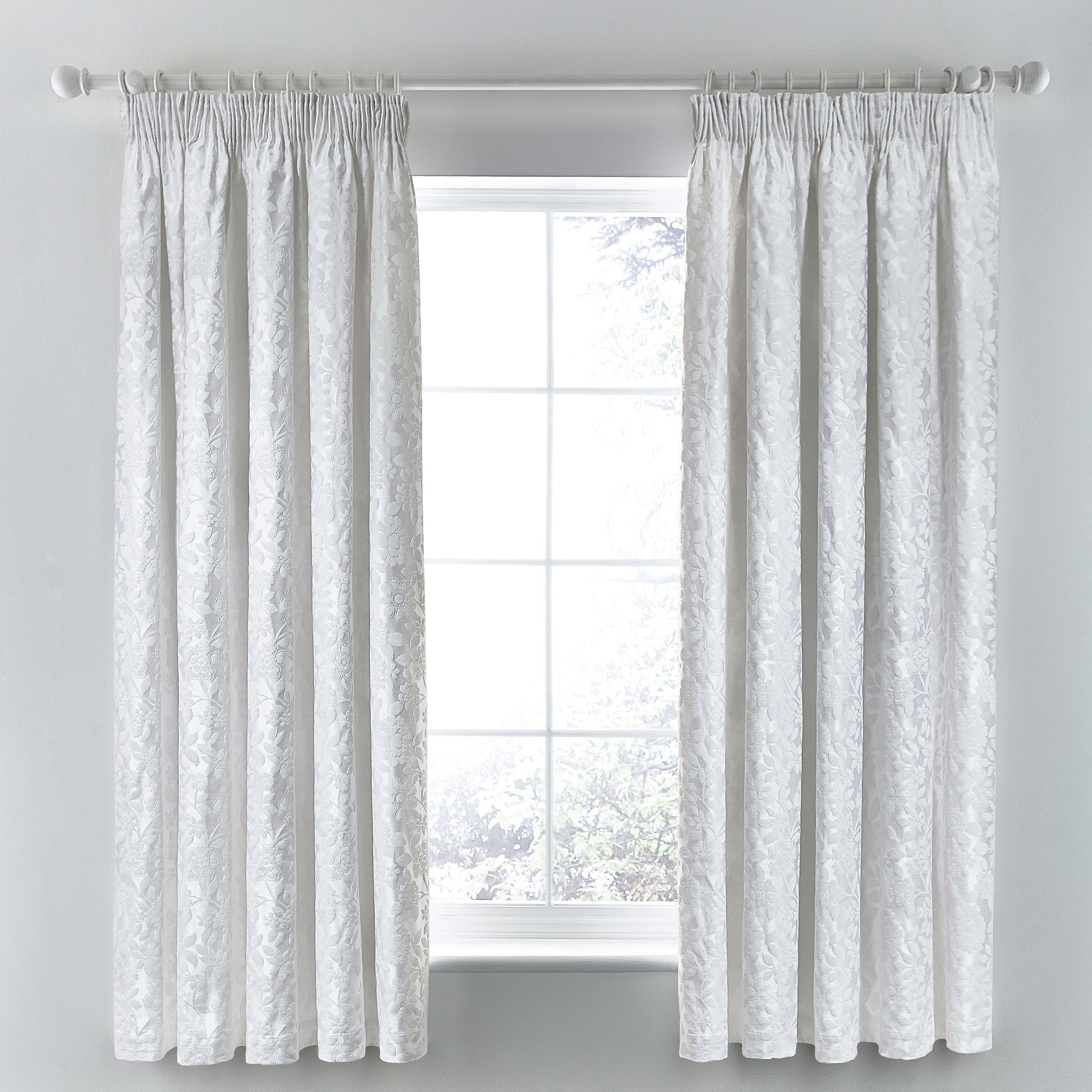 White Curtains Ikea Ritva Pleated Curtains White Curtains And With Regard To Luxury White Curtains (Image 12 of 15)