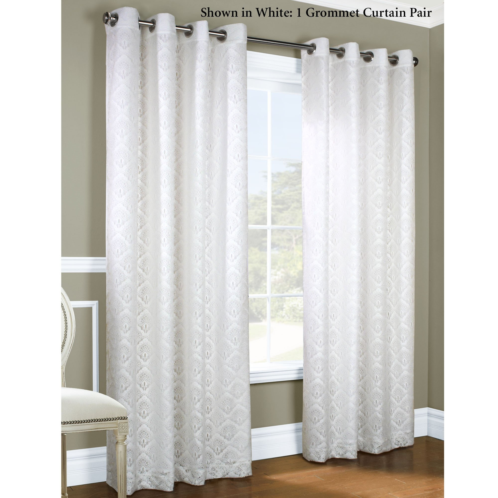 White Curtains With Blackout Lining Regarding White Curtains With Blackout  Lining (Image 15 Of 15