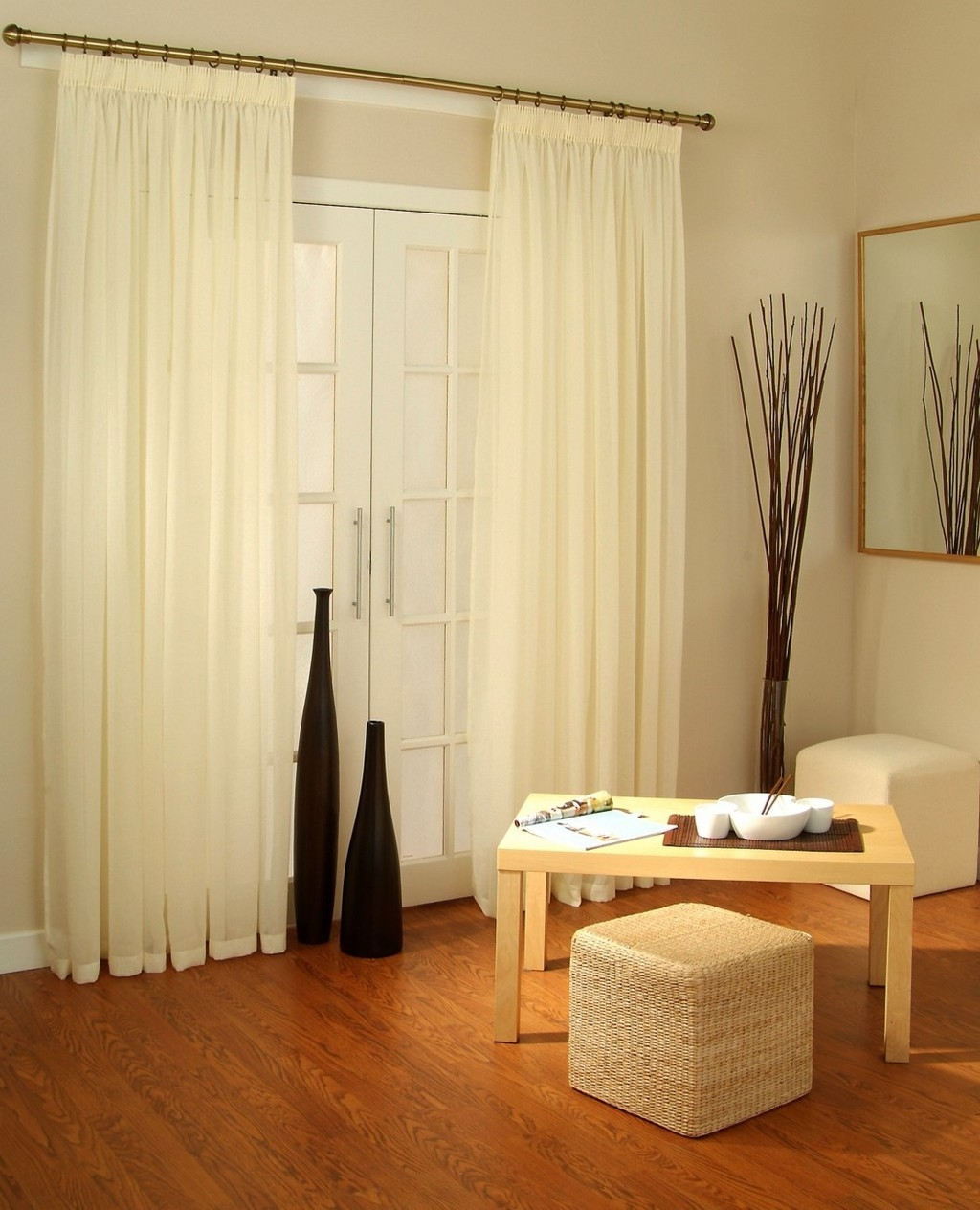 White Extra Long Shower Curtain Curtains Collection Pinterest With Extra Long Voile Curtains (Image 12 of 15)