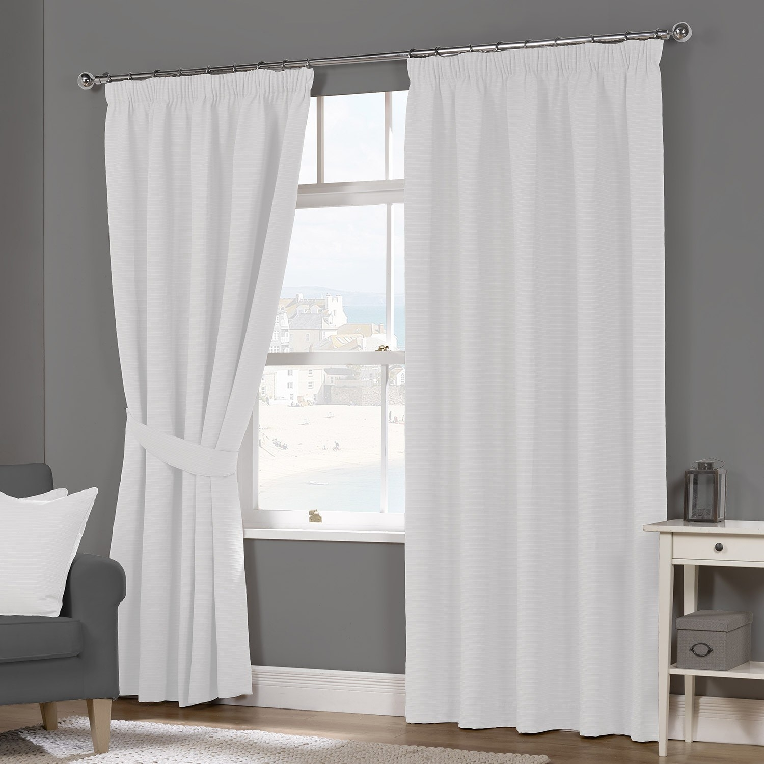 White Luxury Curtains Inside Luxury White Curtains (Image 14 of 15)