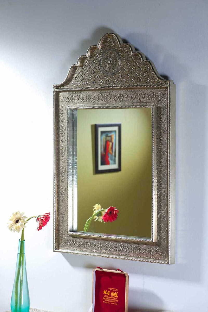 White Metal Bathroom Mirrors White Metal Furniture Store For White Metal Mirror (View 9 of 15)
