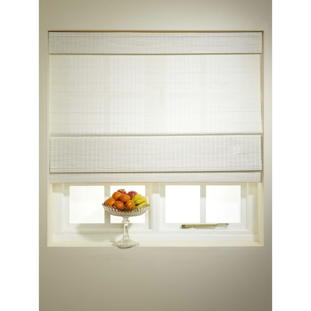 White Roller Blinds Richmond Soft White Thumbnail Image Kids White For Cotton Blinds (Image 15 of 15)