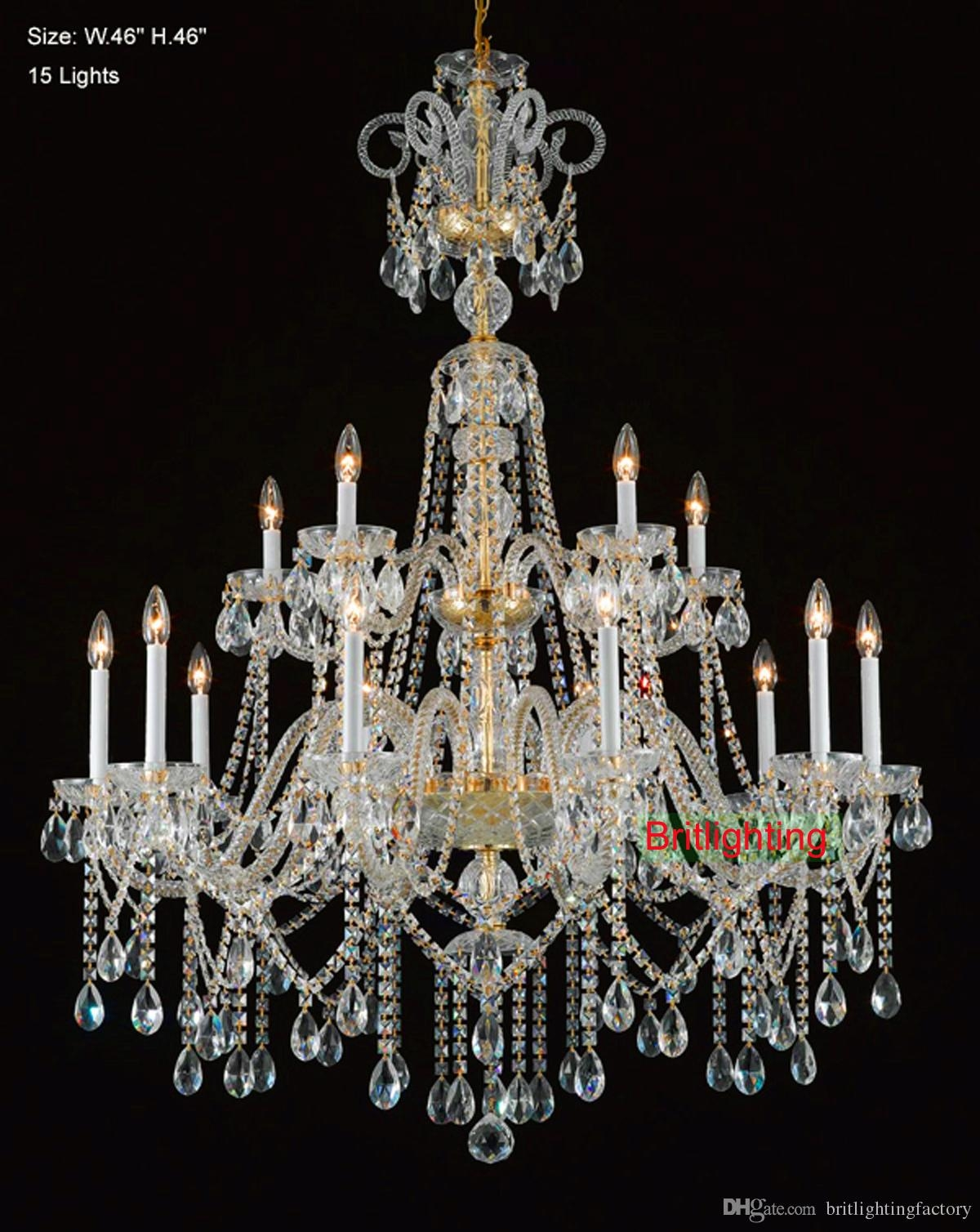 Wholesale Crystal Chandelier From China Flush Fitting