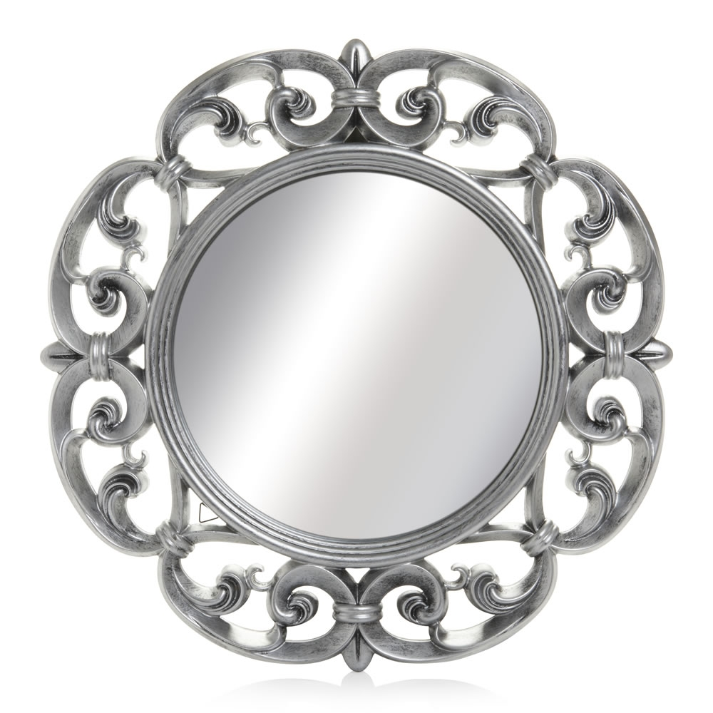 Featured Image of Ornate Round Mirror
