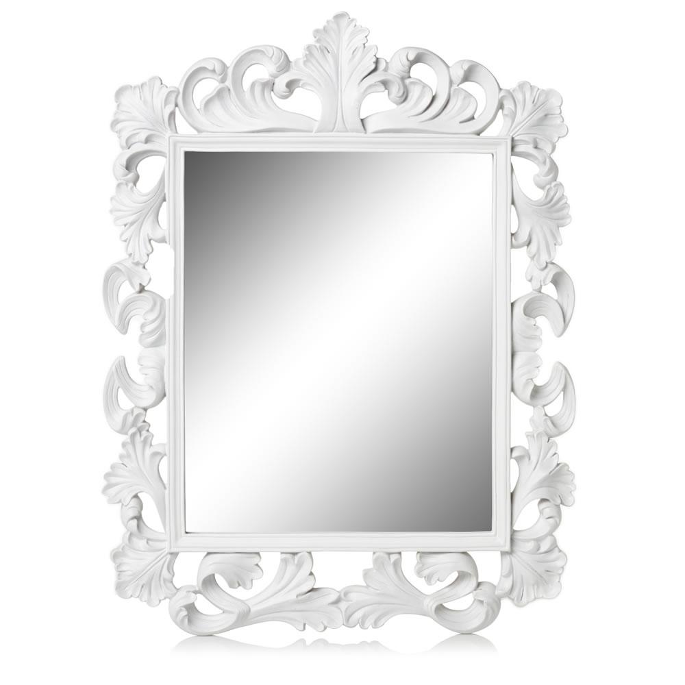 Wilko Rococo Mirror White Square Room Pinterest Rococo Inside Black Rococo Mirror (Image 15 of 15)