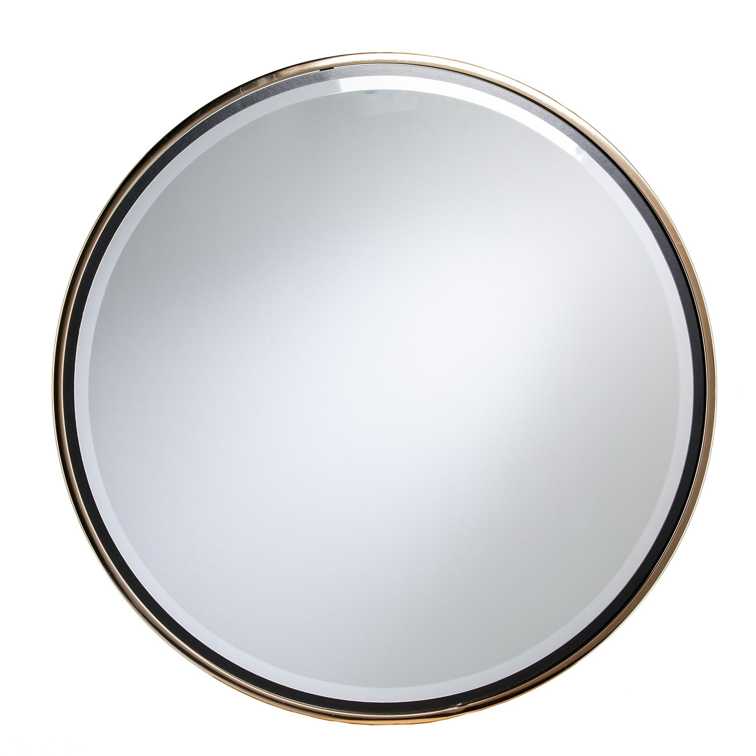 Willa Arlo Interiors Contemporary Round Wall Mirror Reviews In Contemporary Wall Mirror (Image 15 of 15)