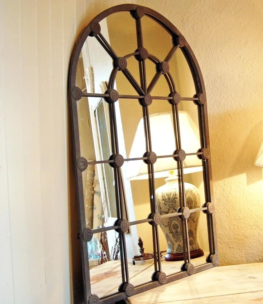 Window Arch Mirror Pitchloveco With Regard To Arched Mirror Window (Image 13 of 15)