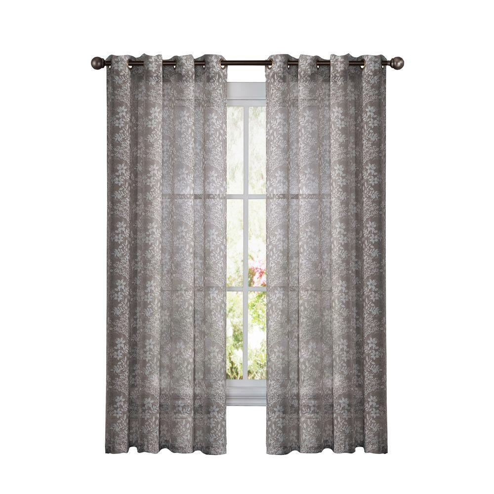 Window Elements Raphael Heathered Faux Linen Dark Turquoise With Extra Wide Linen Curtains (Image 13 of 15)