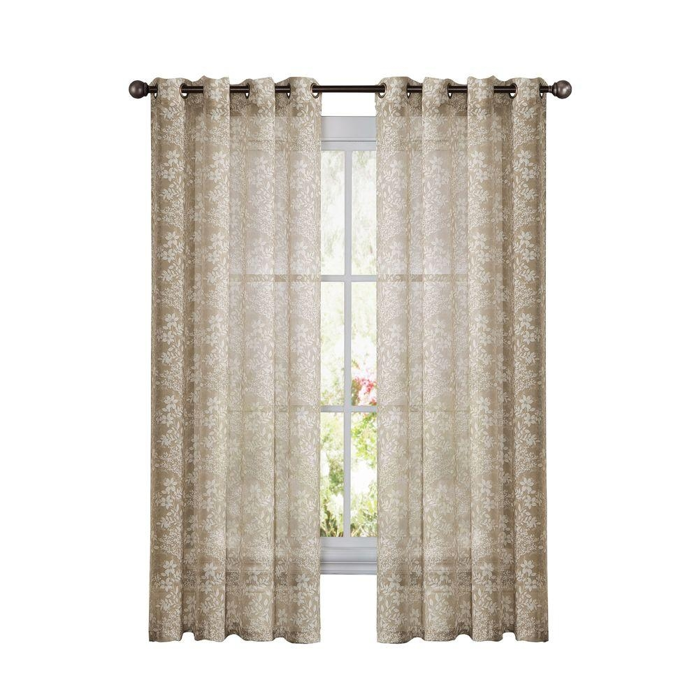 Window Elements Raphael Heathered Faux Linen Dark Turquoise With Regard To  Extra Wide Linen Curtains (