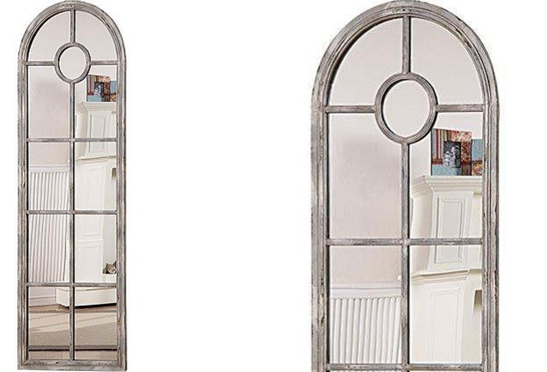 Window Pane Mirror Kohls Home Decor Inspirations Intended For Arched Mirror Window (Image 14 of 15)