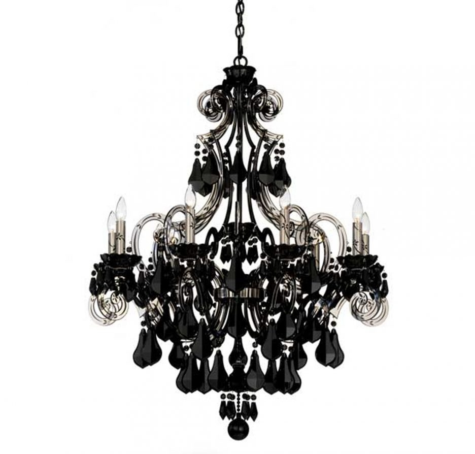 Winsome Black Chandelier Wall Lights 55 Black Chandelier Wall Regarding Black Chandelier Wall Lights (Image 15 of 15)