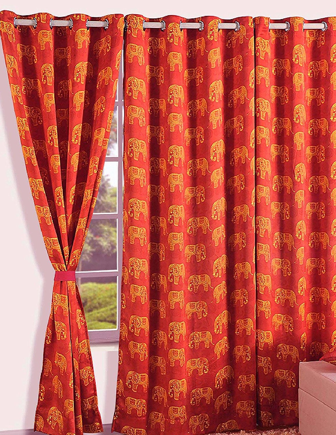 Winsome Moroccan Style Curtains 63 Moroccan Style Eyelet Curtains In Morrocan Style Curtains (View 4 of 15)