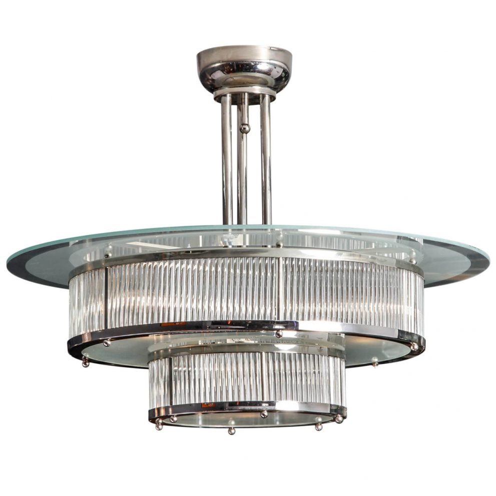 Wondrous Art Deco Chandelier Lighting 76 Art Deco Chandelier Lamp Within Art Deco Chandelier (Image 15 of 15)