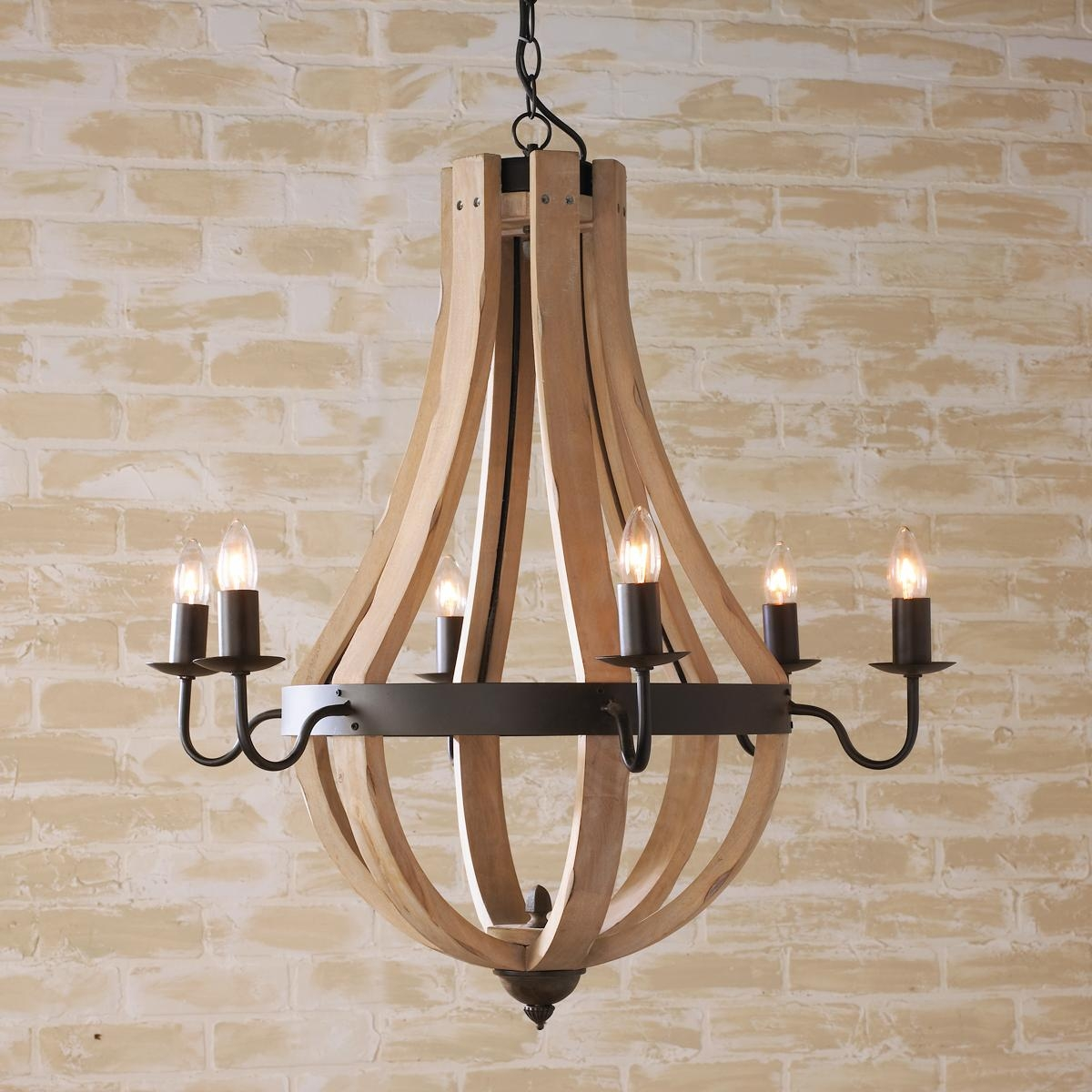 Wood Chandeliers Creative Home Decor Pinterest Plugs Throughout Wooden Chandeliers (View 2 of 15)