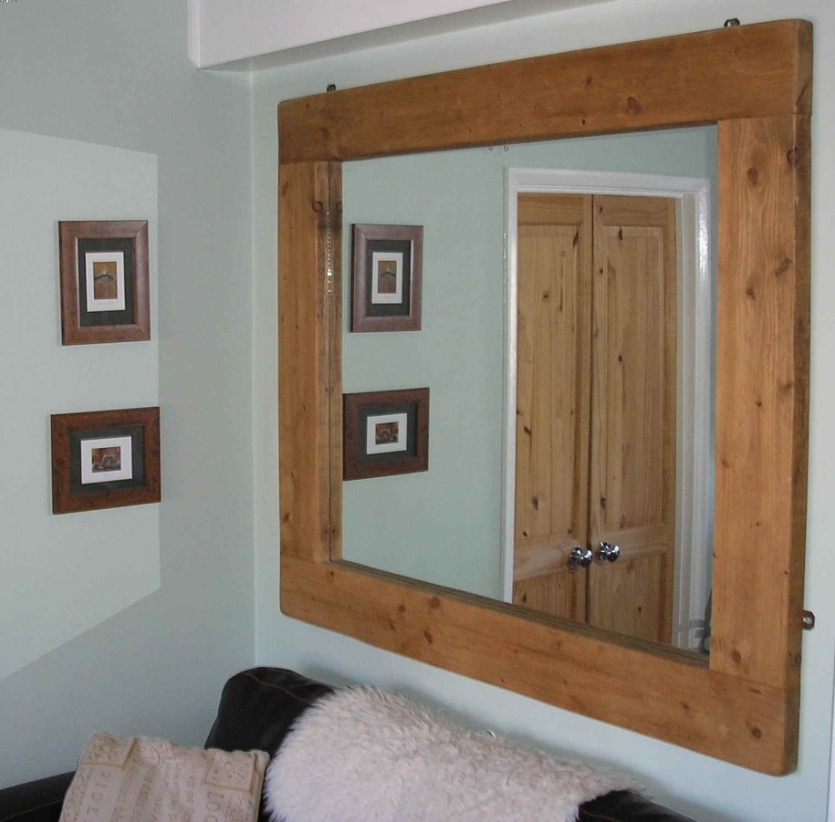 Wooden Framed Wall Mirrors Mirror Design Ideas For Oak Framed Wall Mirrors (Image 15 of 15)