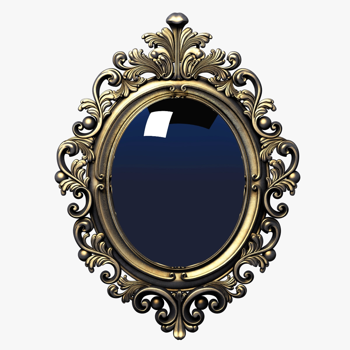 15 Photos Baroque Mirror Frame Mirror Ideas