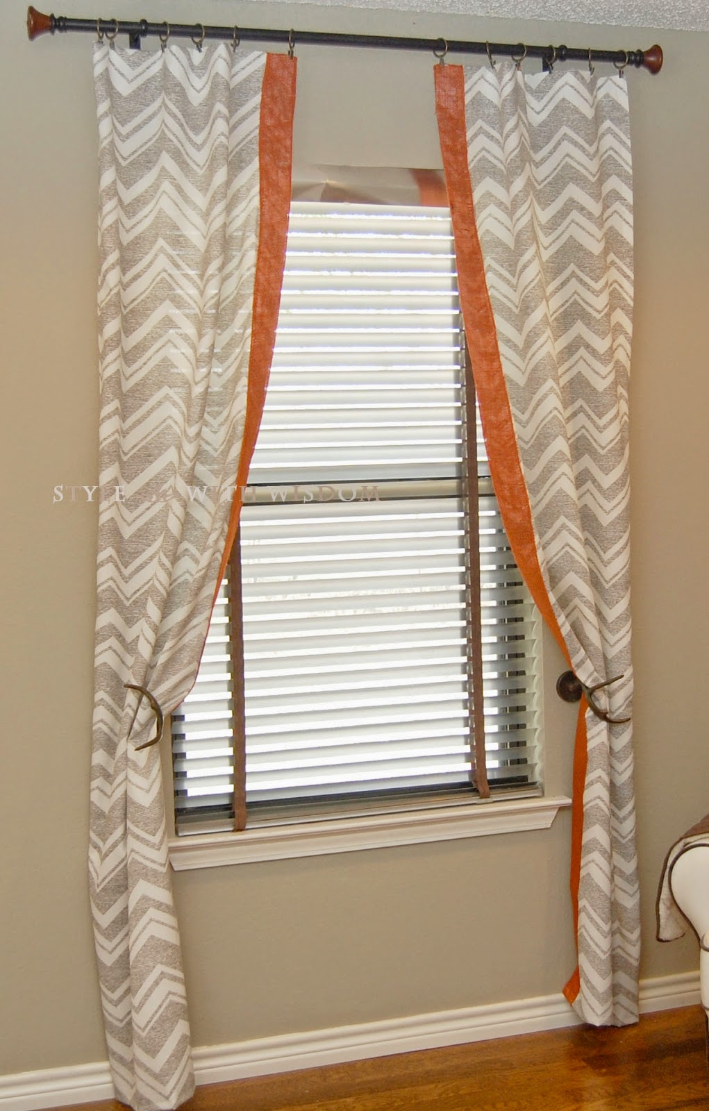 Woodland Nursery Chevron Curtains Designs I Love Pinterest Within Nursery Curtains (Image 14 of 15)