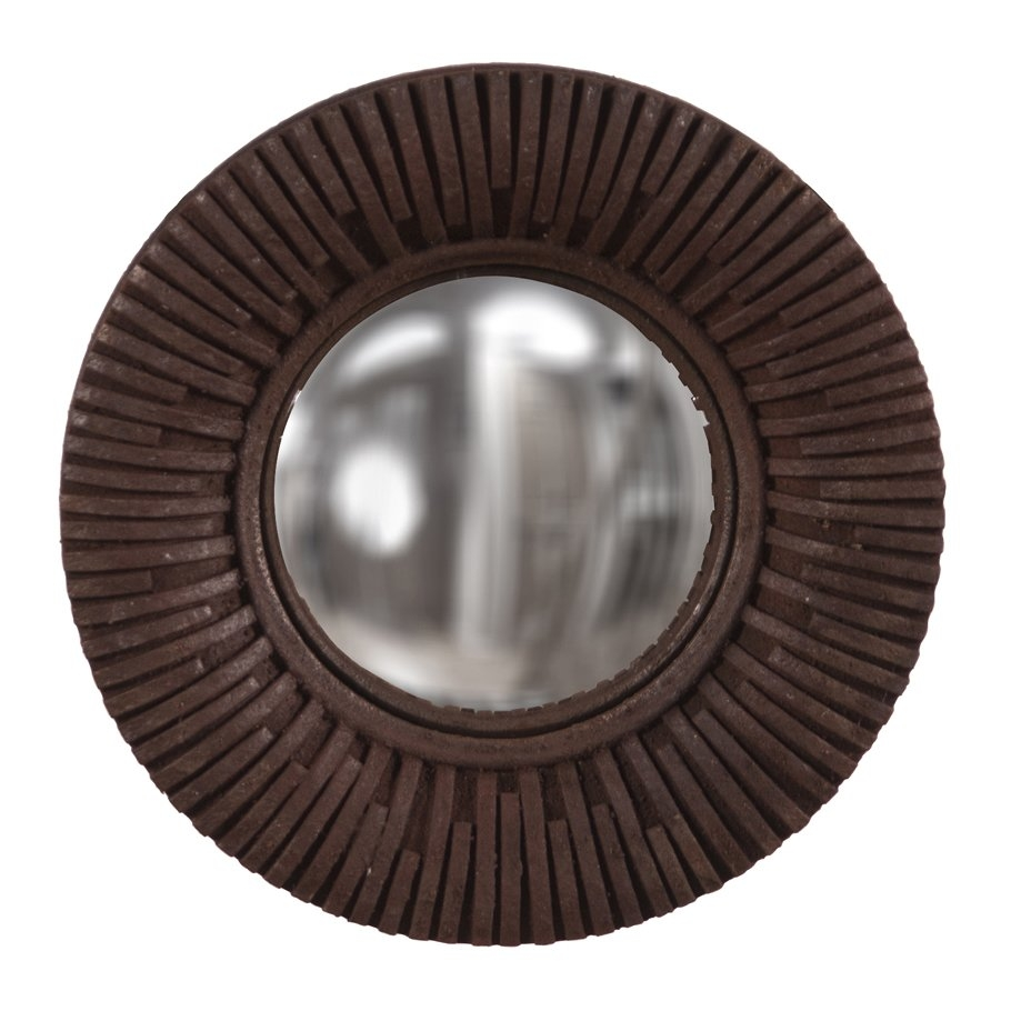 World Menagerie Arteaga Round Convex Wall Mirror Wayfair In Round Convex Wall Mirror (Image 15 of 15)