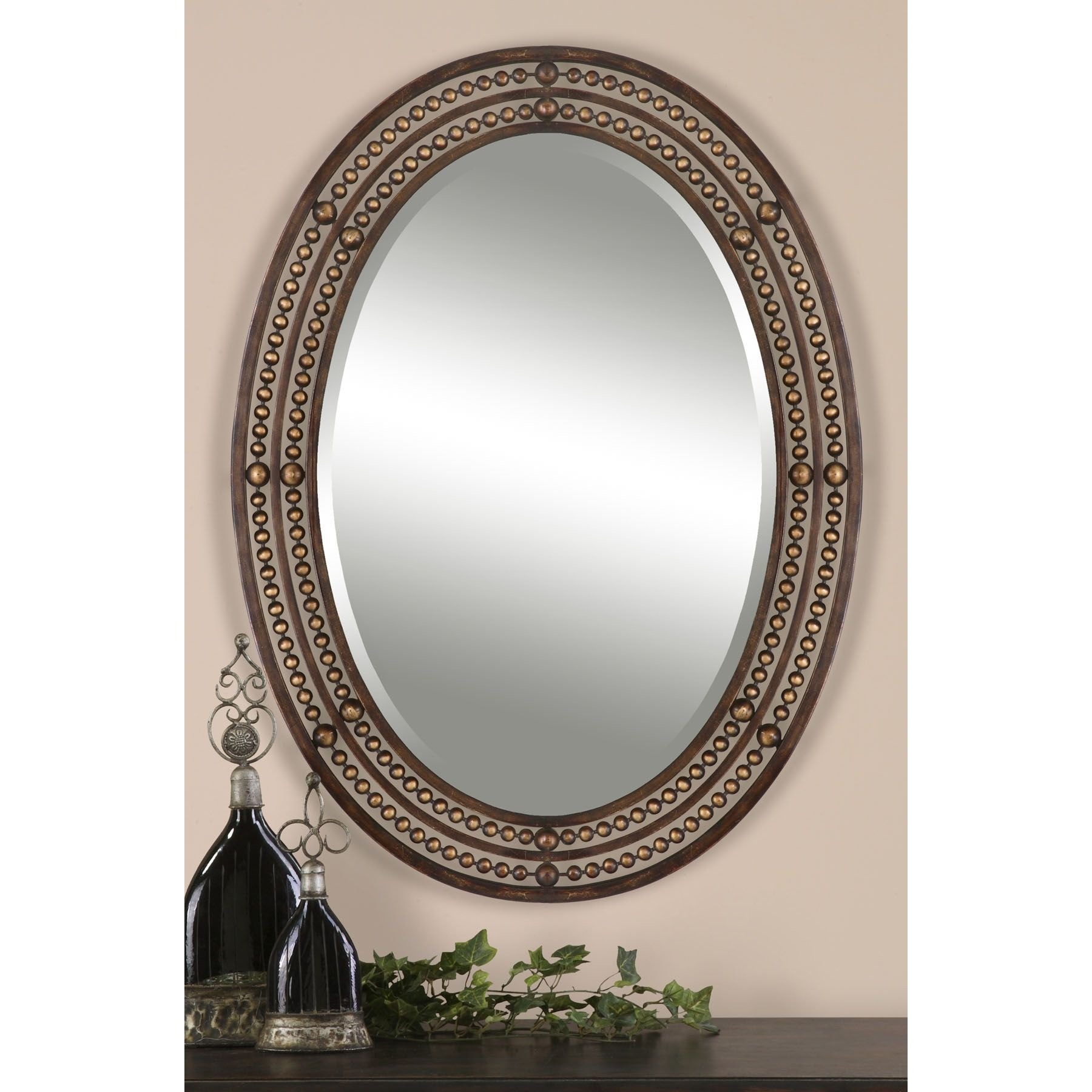 World Menagerie Oval Wall Mirror Reviews Wayfair Within Oval Wall Mirrors (Image 14 of 15)