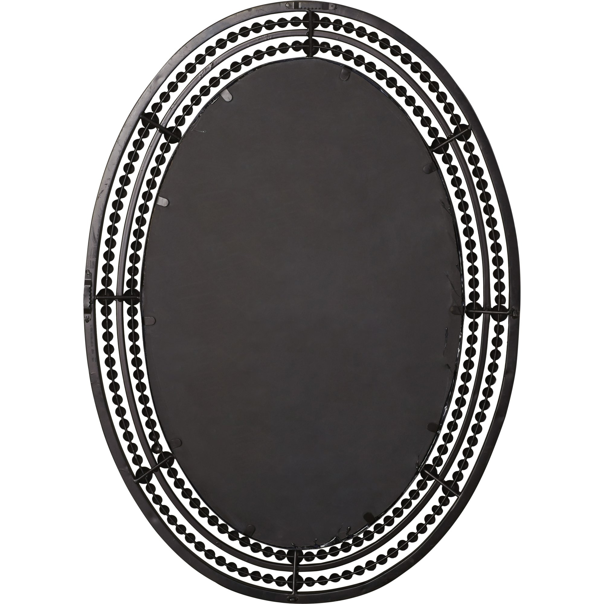 World Menagerie Oval Wall Mirror Reviews Wayfair Within White Oval Wall Mirror (Image 15 of 15)