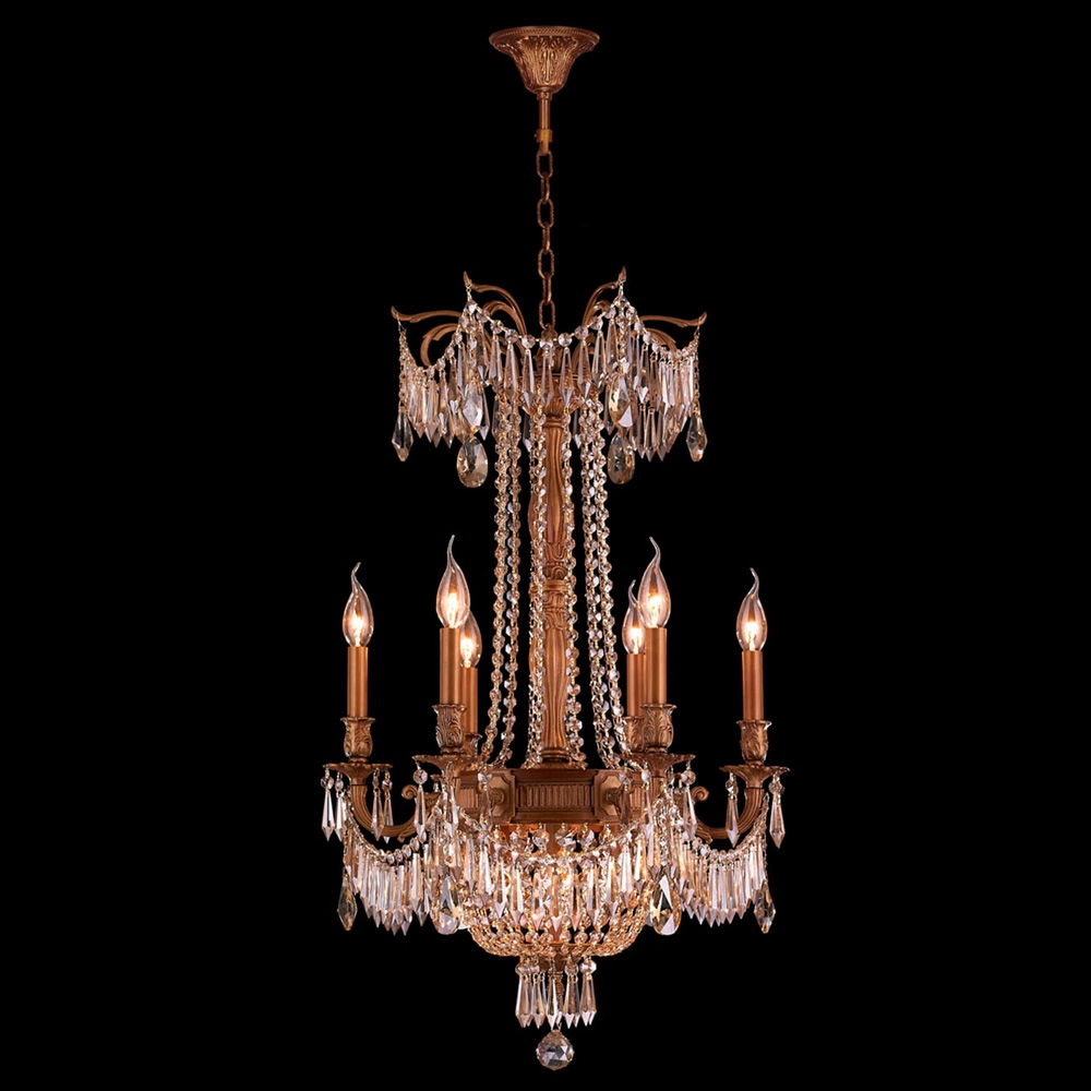 Featured Image of French Gold Chandelier