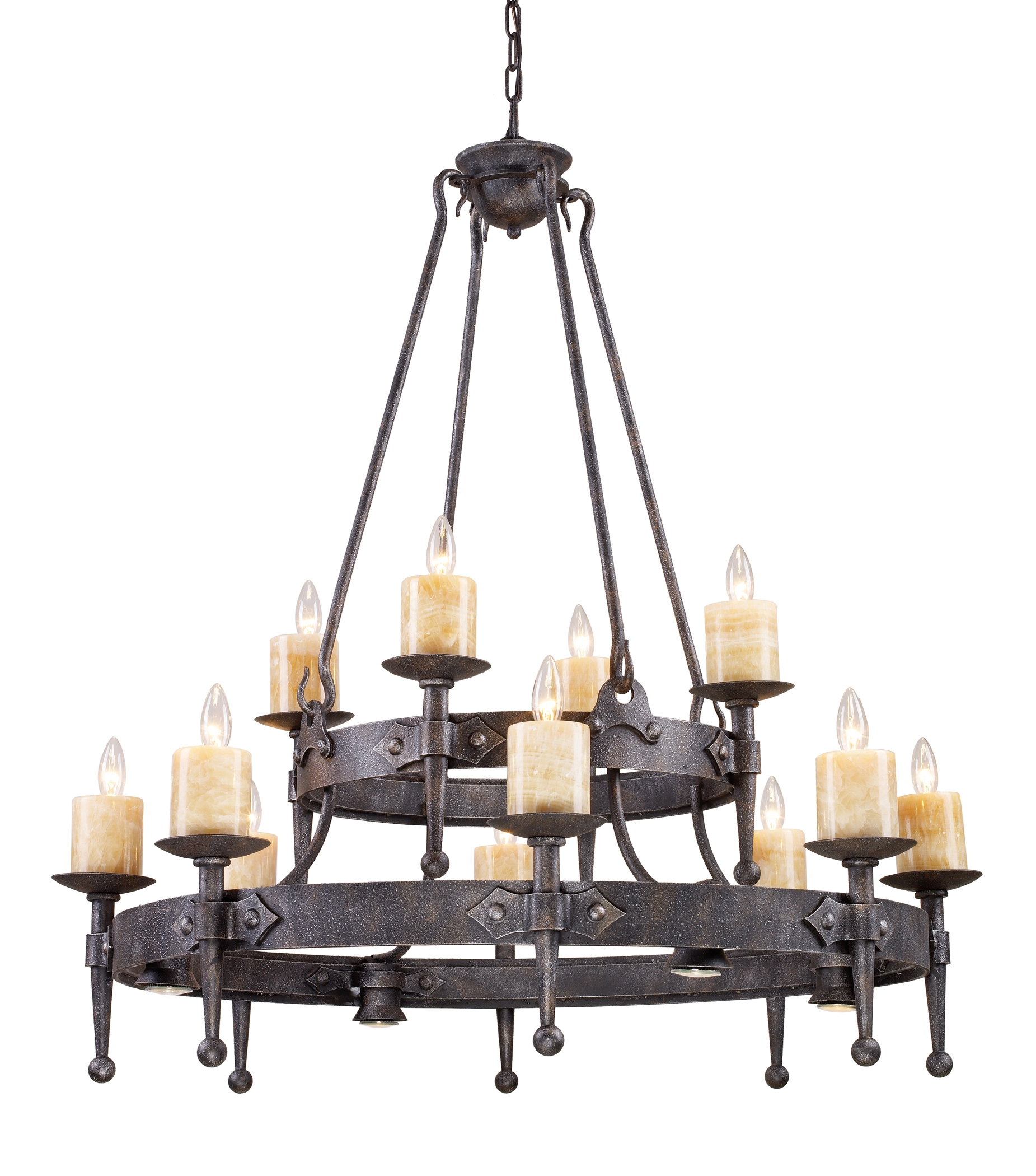 Wrought Iron Chandeliers Rustic Magnificent On Modern Home Decor For Large Iron Chandeliers (Image 14 of 15)