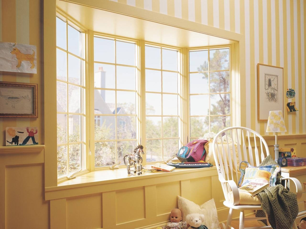 Youll Love These Easy Curtain And Blind Solutions For Bay Windows Intended For Bay Windows Curtains (Image 15 of 15)
