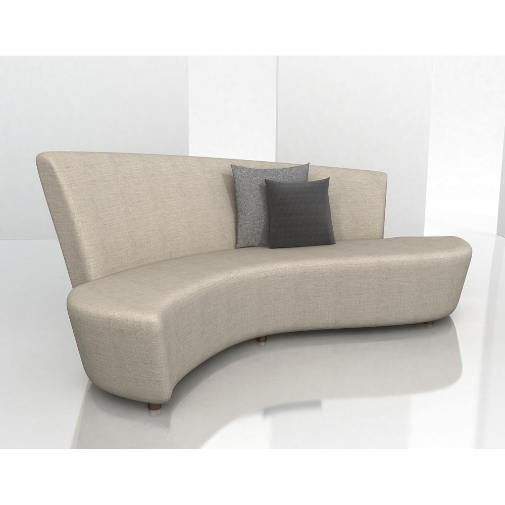 Younger Sofas Weiman Sectionals Modern Designs Pertaining To Contemporary Curved Sofas (Photo 1 of 15)