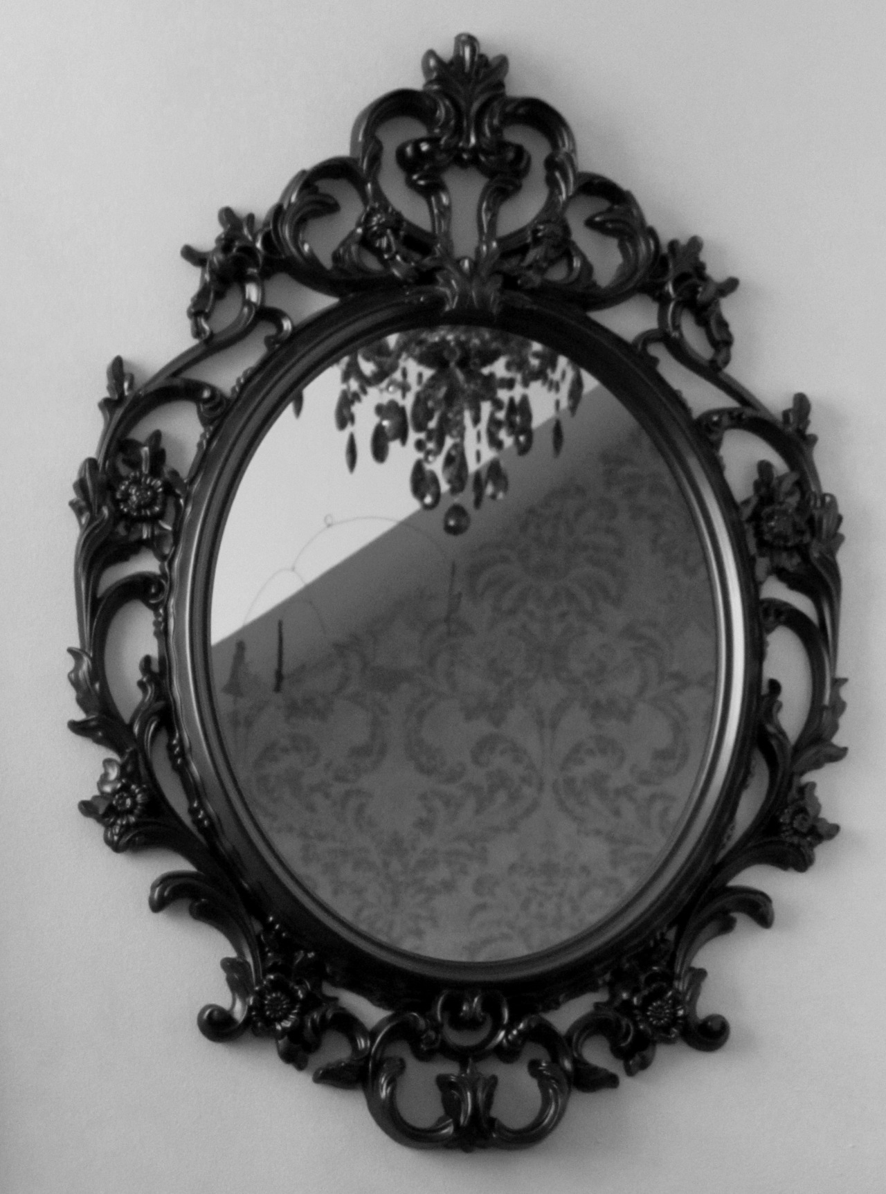 Youre So Vain You Probably Think This Mirror Is For You Dont Pertaining To Black Victorian Style Mirror (Image 15 of 15)