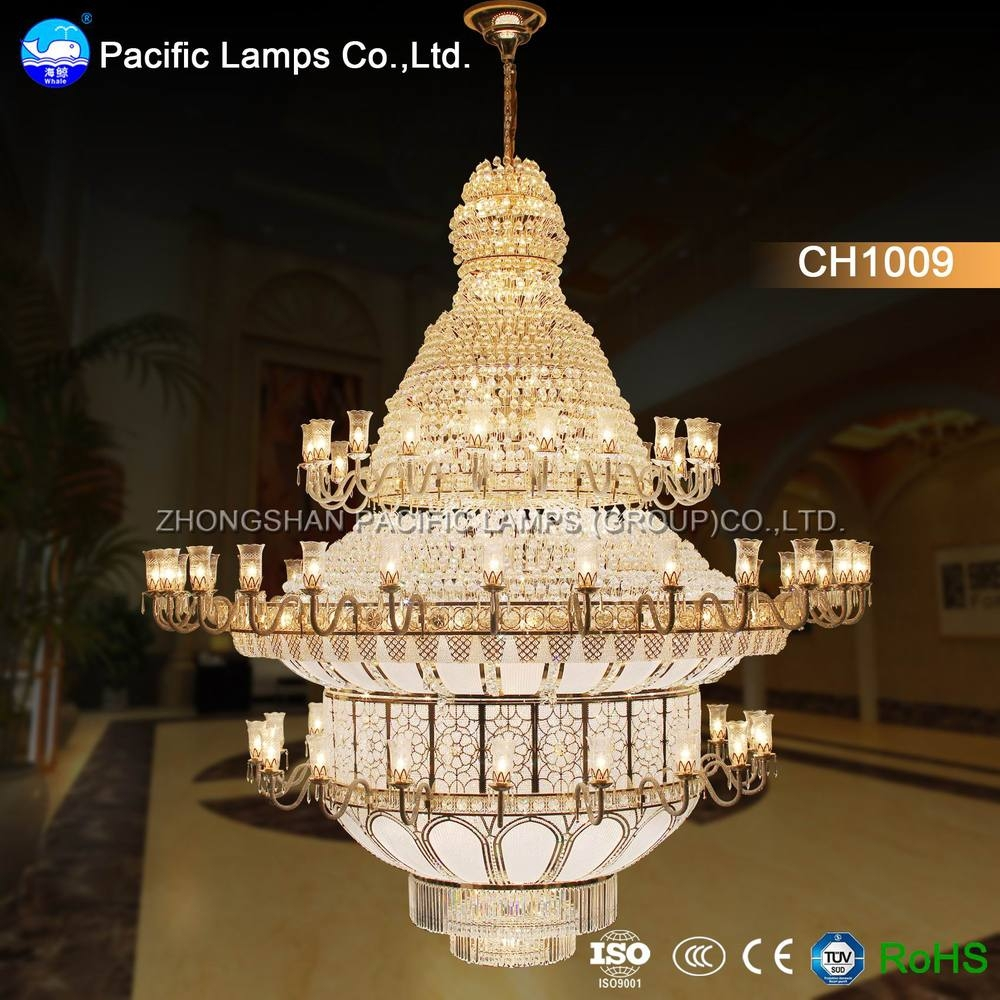 Zhongshan Large Hotel Chandelier For High Ceilings Buy Hotel Pertaining To Hotel Chandelier (Photo 7 of 15)