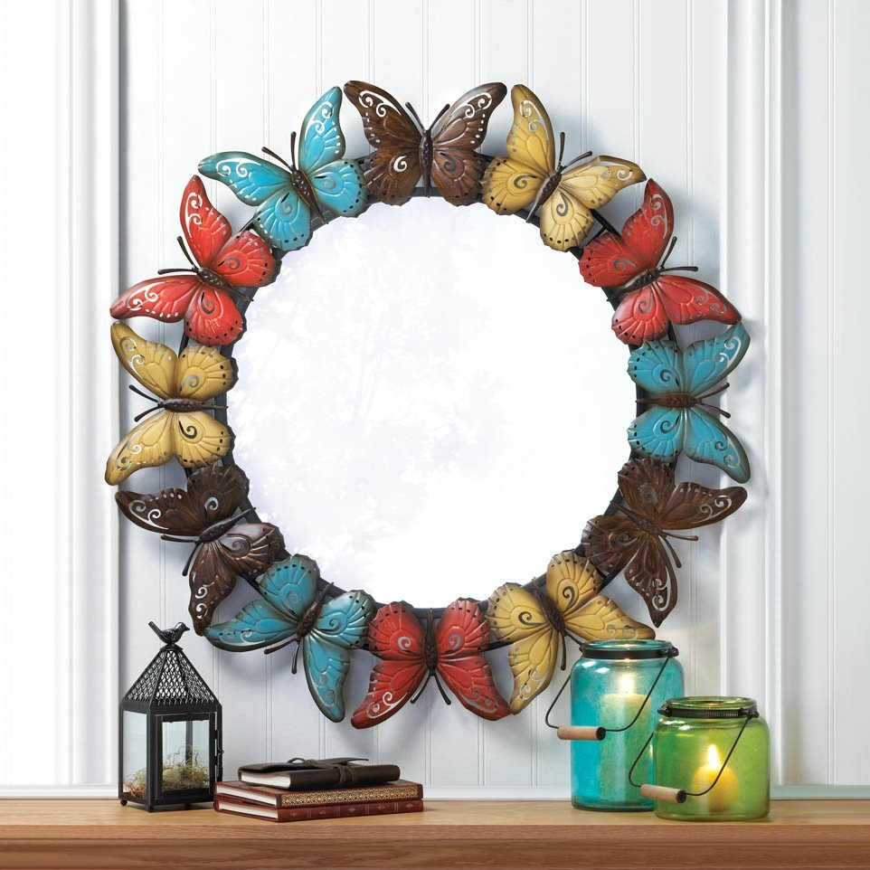 Featured Image of Butterfly Wall Mirror