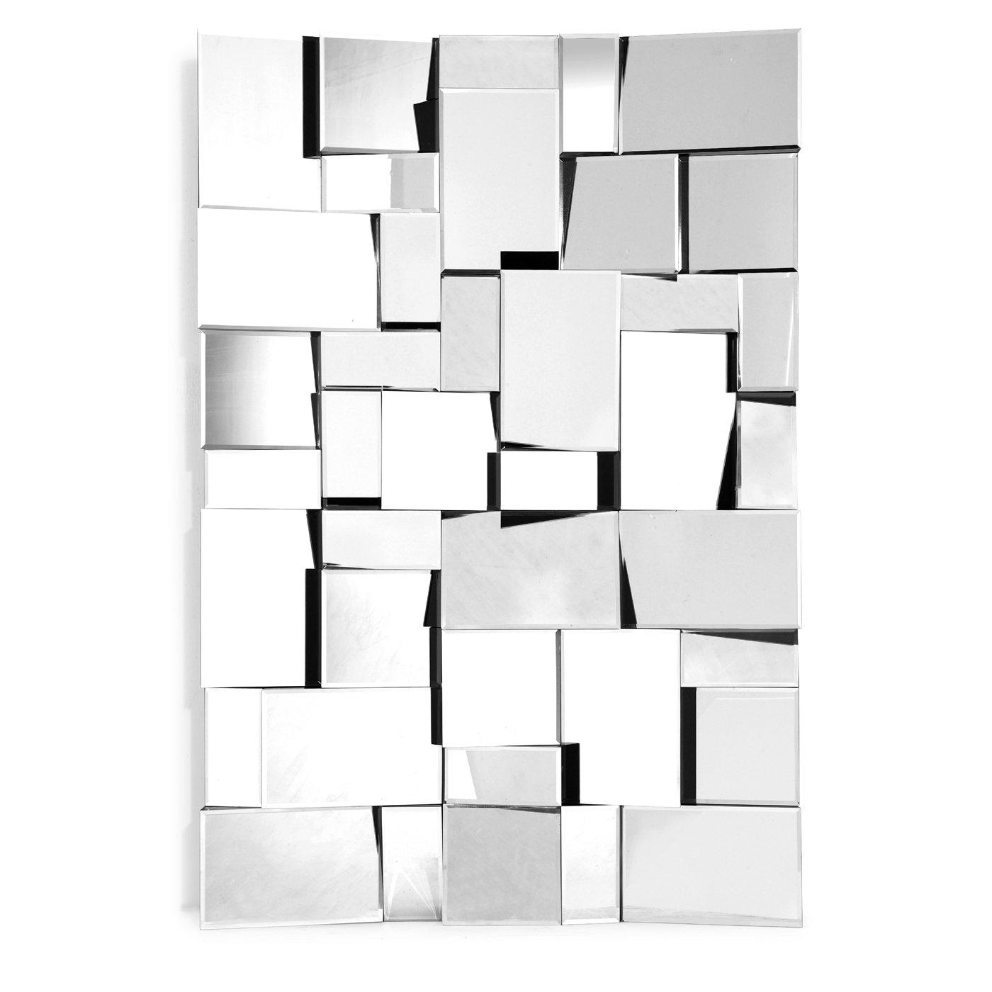 Zuo Modern 850003 Fractal Decorative Mirror Ebay Within Mirror Modern (View 9 of 15)
