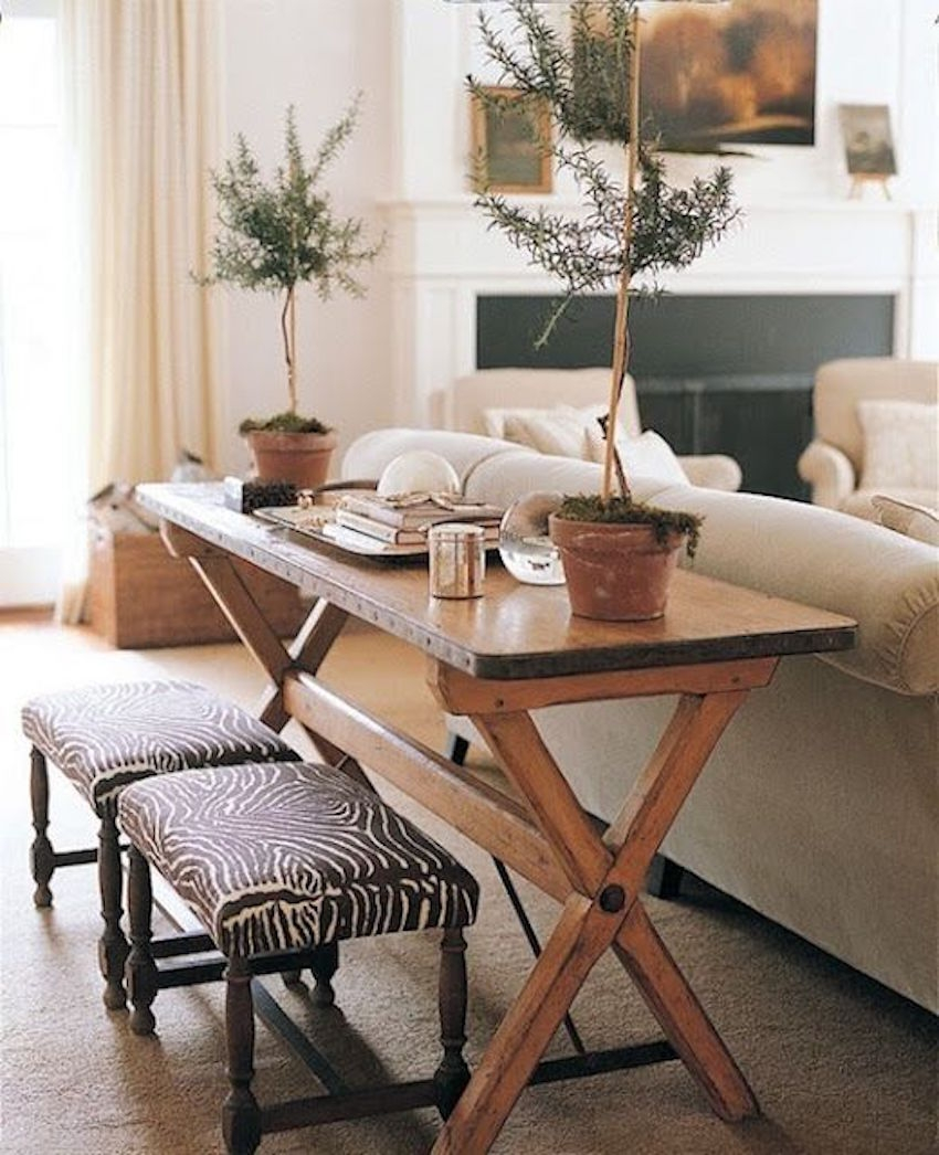 10 Narrow Dining Tables For A Small Dining Room Pertaining To Dining Table With Sofa Chairs (Image 1 of 15)