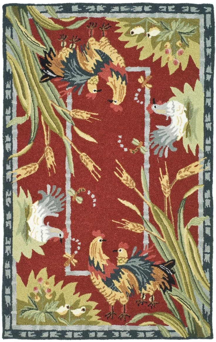 100 Best Rooster Kitchen Rugs Images On Pinterest Throughout Novelty Rugs (Image 1 of 15)