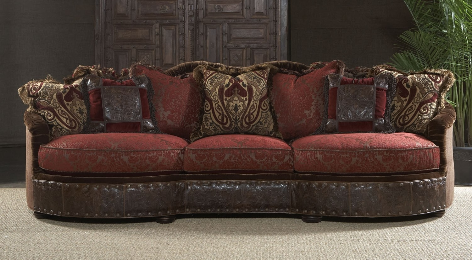 11 Luxury Red Burgundy Sofa Or Couch Within Gothic Sofas (Image 1 of 15)