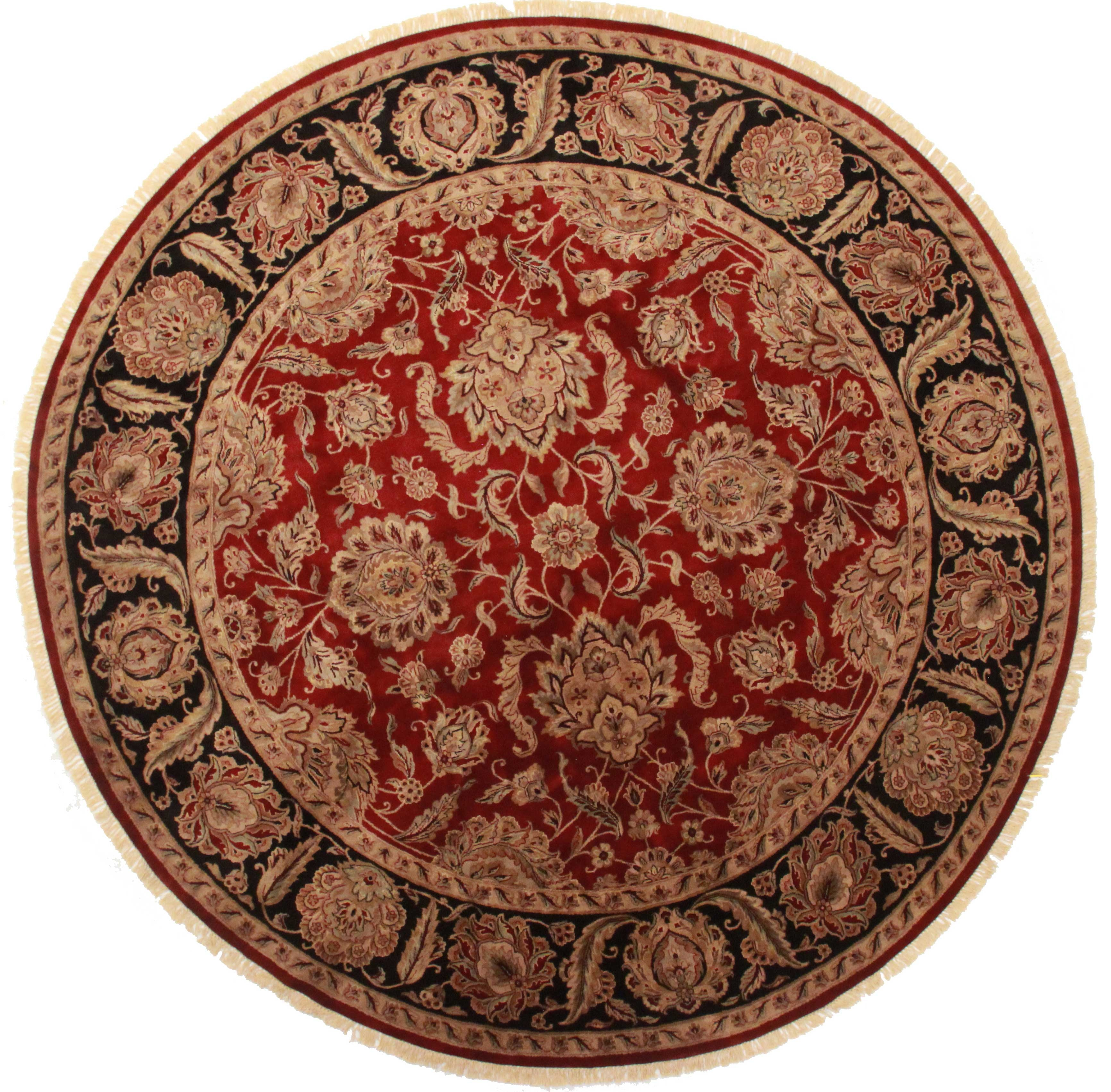 12 Feet Round Persian Design Rug 13746 Exclusive Oriental Rugs With Round Persian Rugs (Image 1 of 15)