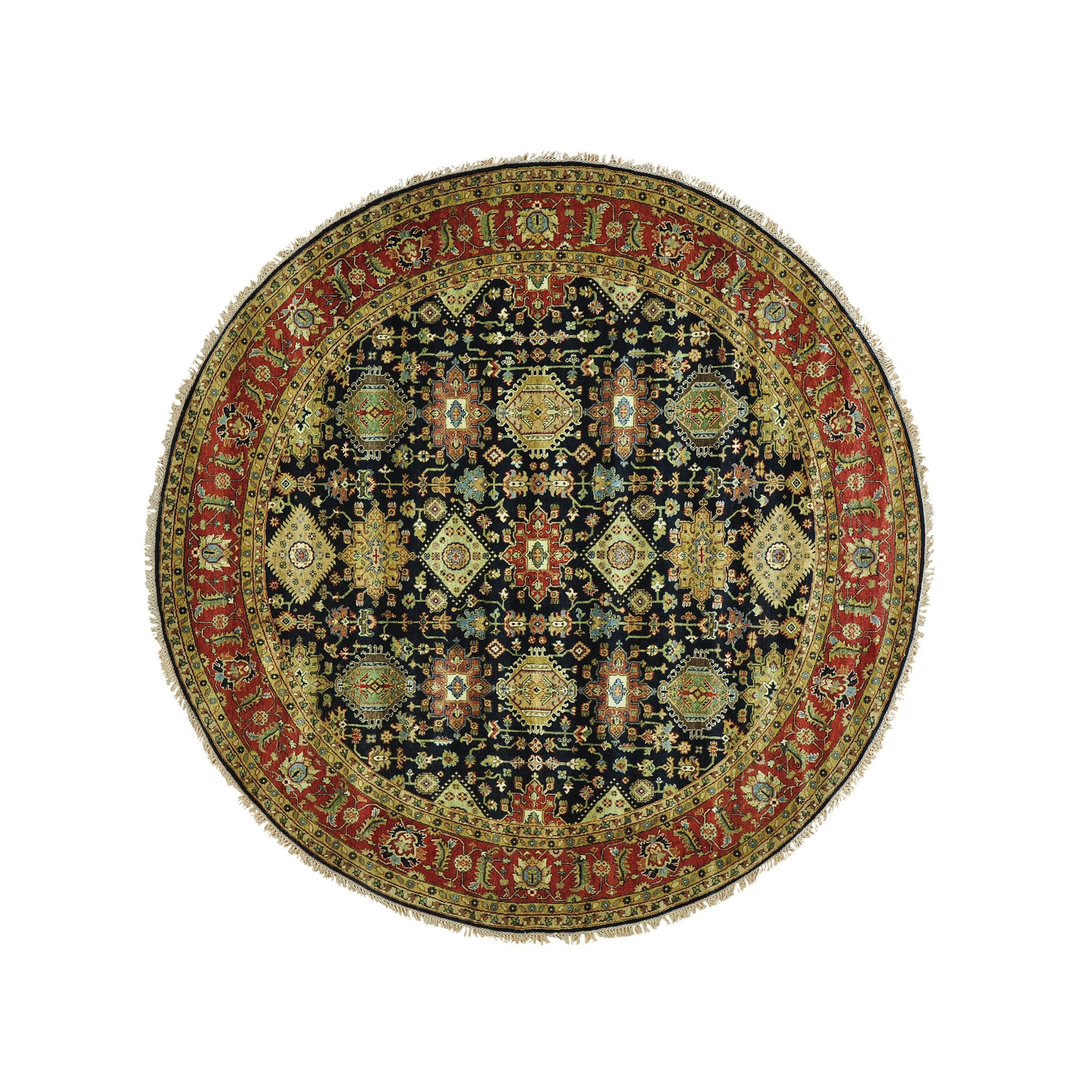 12 Ft Larger Inside Round Persian Rugs (Image 2 of 15)