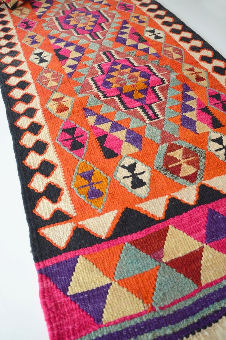 126 Best Images About Hali Kilim On Pinterest Moroccan Rugs Regarding Kilim Rugs (Image 1 of 15)