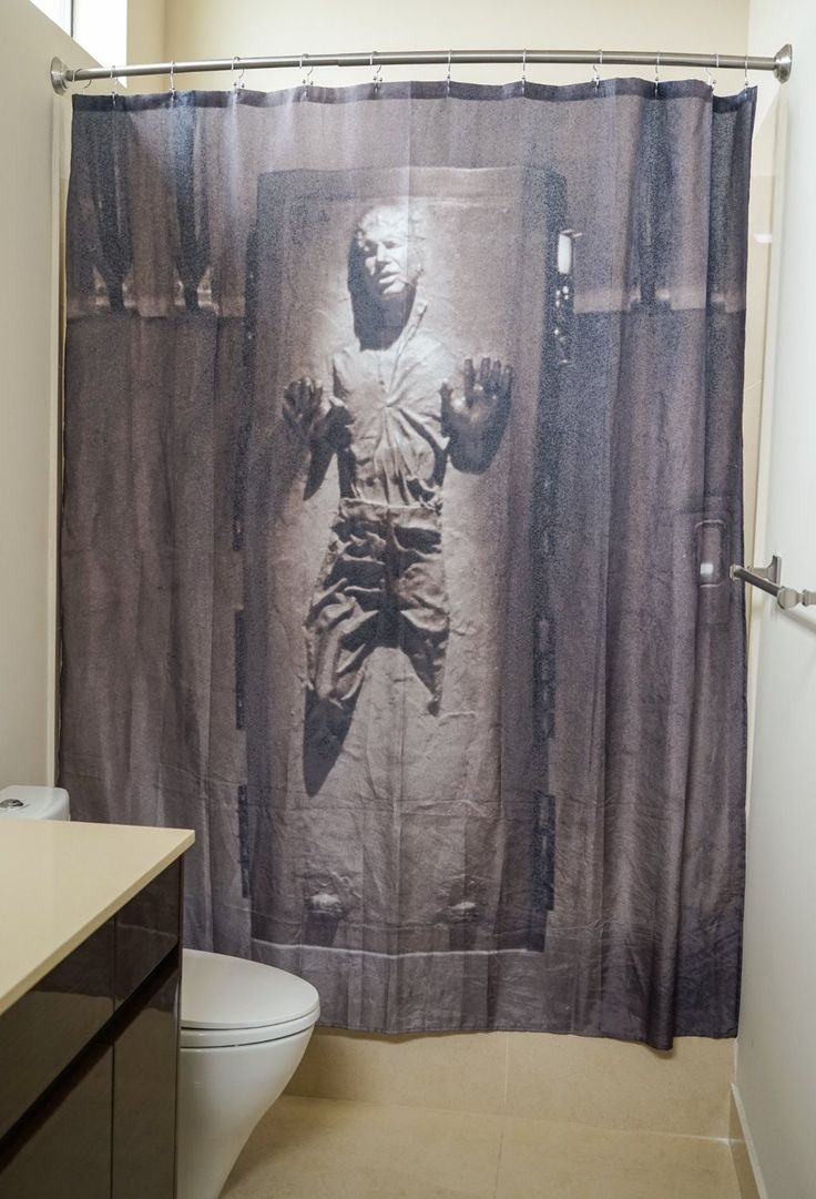 14 Best Star Wars Shower Curtains Images On Pinterest Intended For Odd Shower Curtains (Image 1 of 25)